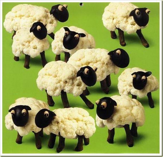 cauliflower sheeps