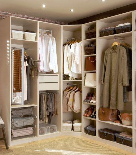 Rinconero giratorio vestidor buscar con google home - Como distribuir armario empotrado ...