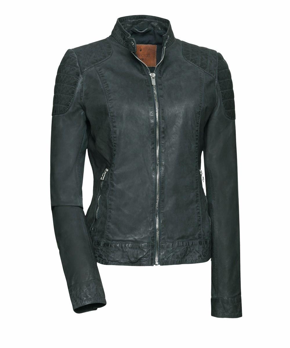 Groene Leren Jas Dames.Leer Dames Vrouwen Leren Jas Goosecraft Jacket Biker Biker128 Khaki