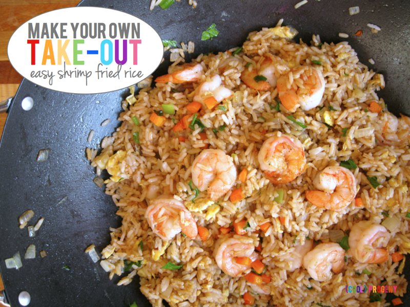 My latest post make your own take out delicious quick shrimp my latest post make your own take out delicious quick shrimp fried rice progeny fast easy meal fried rice ccuart Images