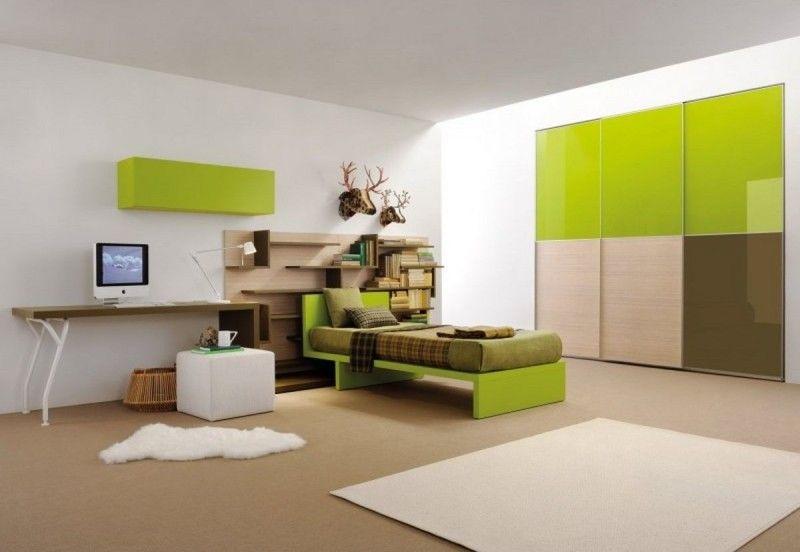 Room  Modern Minimalist teen Bedroom