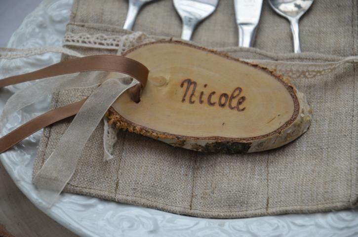 Gastgeschenke namensschild tischkarte hochzeit 80 x ein designerst ck von majalino bei - Gastgeschenke silberhochzeit ...