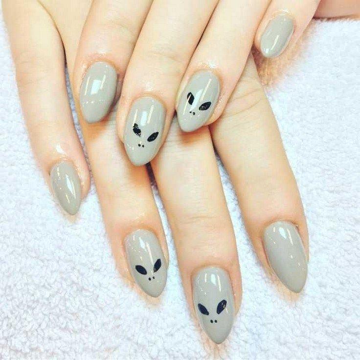 41 beautiful spring nail art designs 33 #nailartdesigns #springnailart