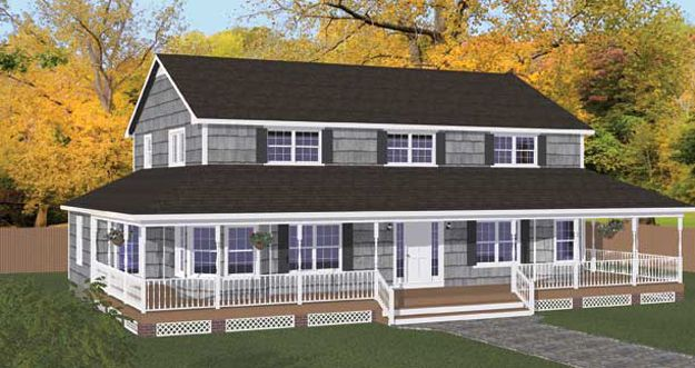 38837400ec529aa51875395555a3418e  Bedroom House Wrap Around Porch With In Law Suite Floor Plans on