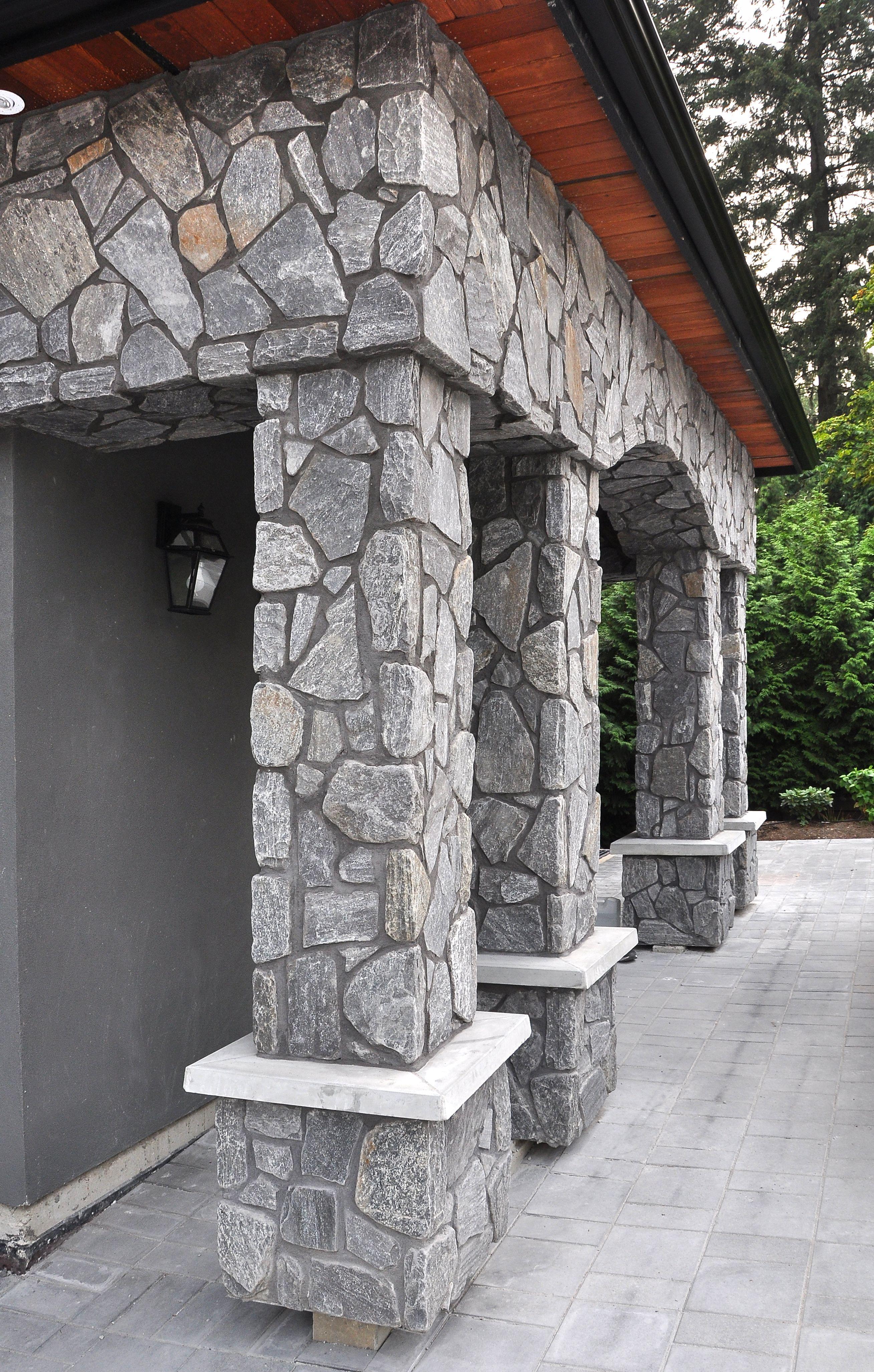 Rocky Mountain Fieldstone Stone Panels Exterior Exterior Stone Faux Stone Panels