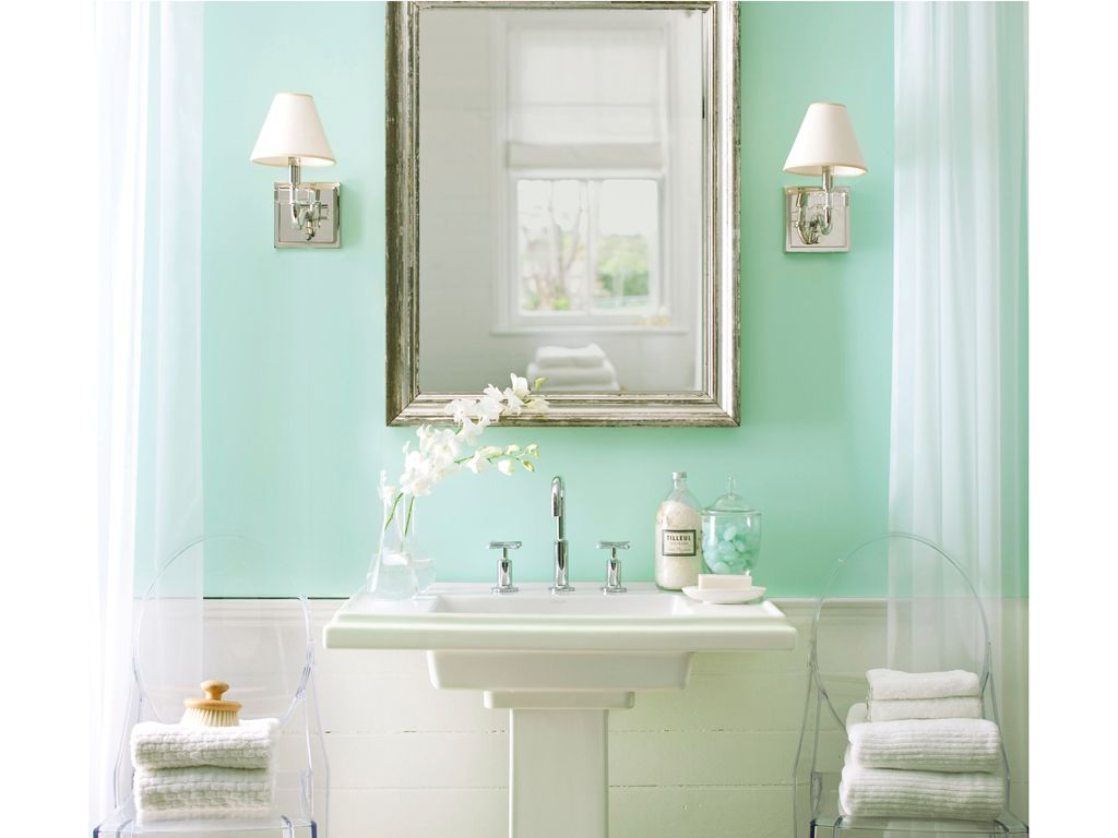 Bathroom color ideas green - Mint Green Is The New Fresh Colour For Your Home So Go For It Get Some Inspirational Ideas