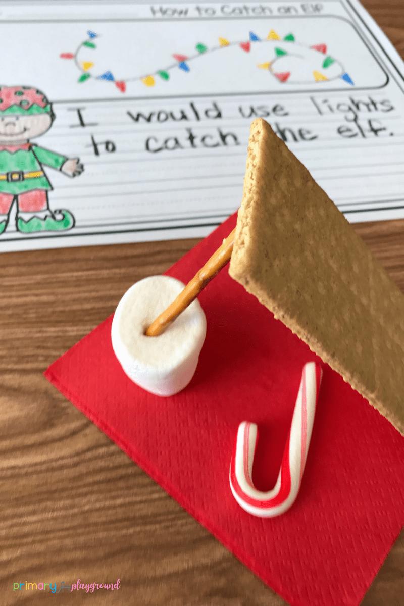 Literacy Snack Idea Elf Free Printable Primary Playground Christmas Science Activities Elf Activities Winter Activities Preschool [ 1200 x 800 Pixel ]