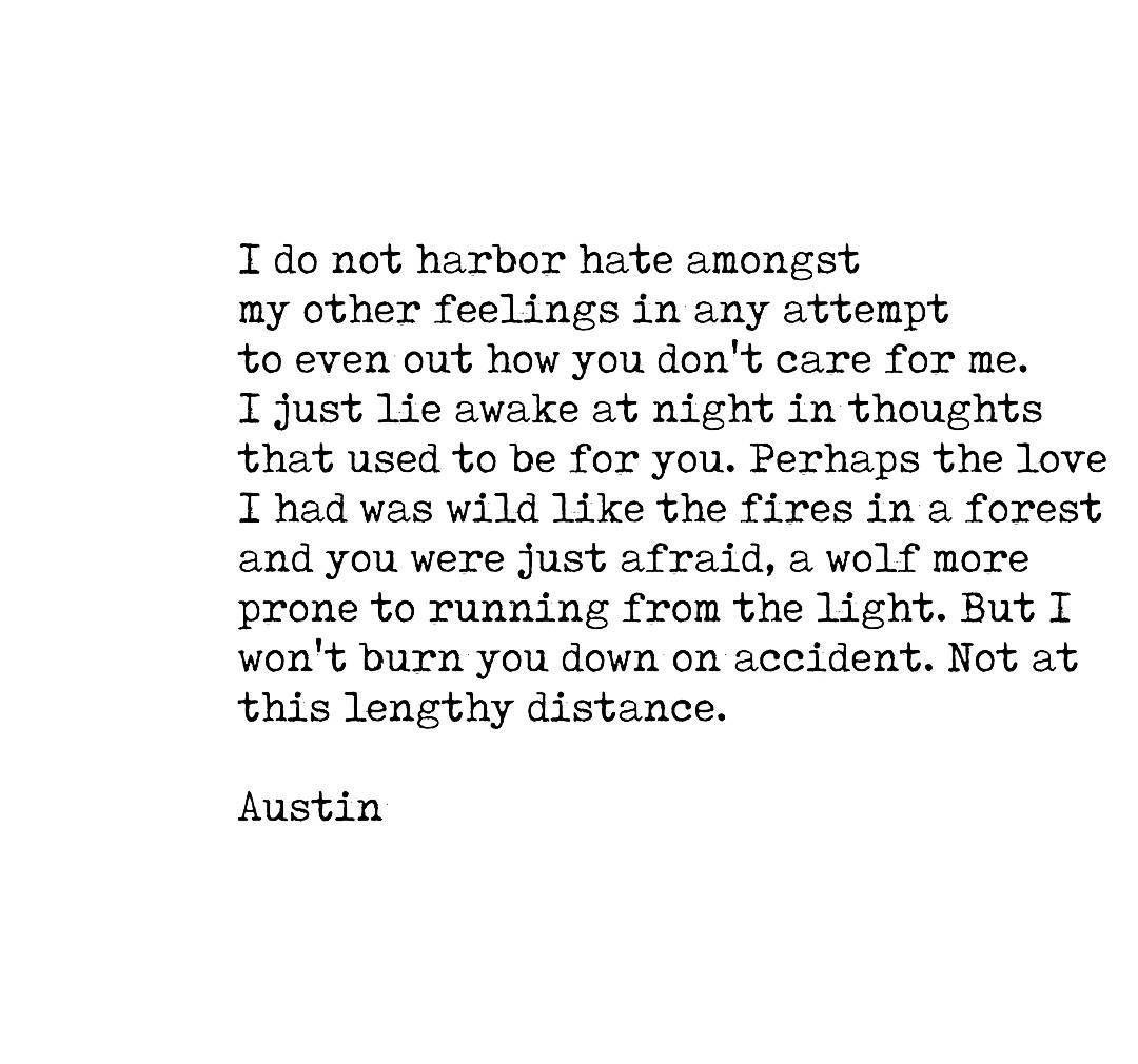 "Love Poem Quotes 31 Likes 1 Comments  Austinlongton On Instagram ""Fireslife"