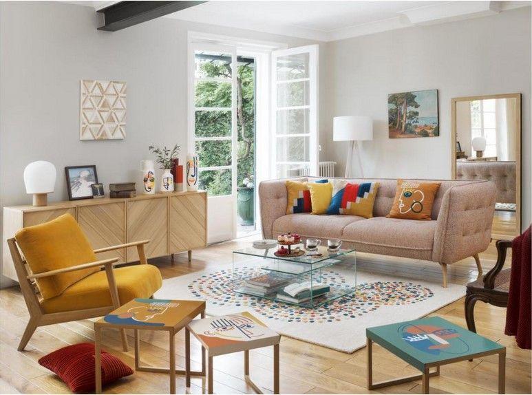 Viken Fauteuil En Velours Jaune Habitat Fauteuil Habitat Iziva Com Fauteuil Velours Decoration Maison Mobilier De Salon