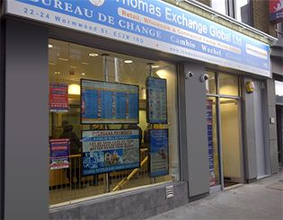 Forex exchange liverpool street