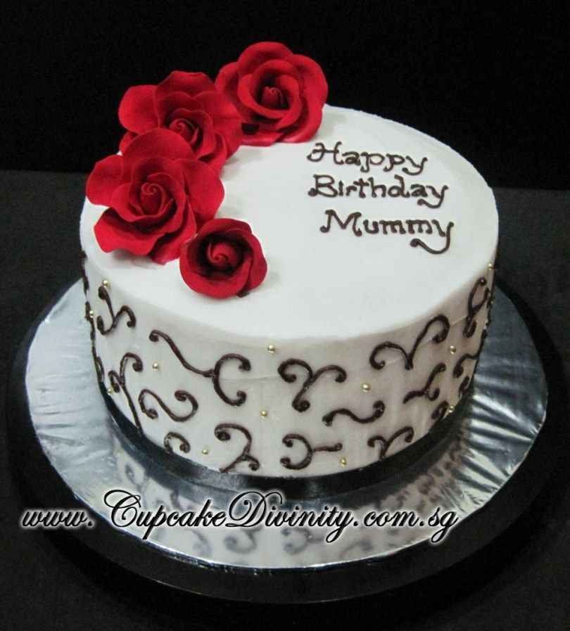 Astounding 32 Marvelous Image Of Happy Birthday Mom Cake With Images Funny Birthday Cards Online Inifodamsfinfo