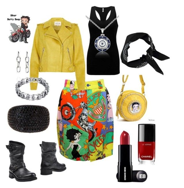 """""""Untitled #733"""" by moestesoh ❤ liked on Polyvore featuring Betty Boop, BKE, Boohoo, Forzieri, Alexander Wang and Chanel"""