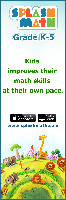 Splash Math - Grades 1 to 5 is an online math program for children ...