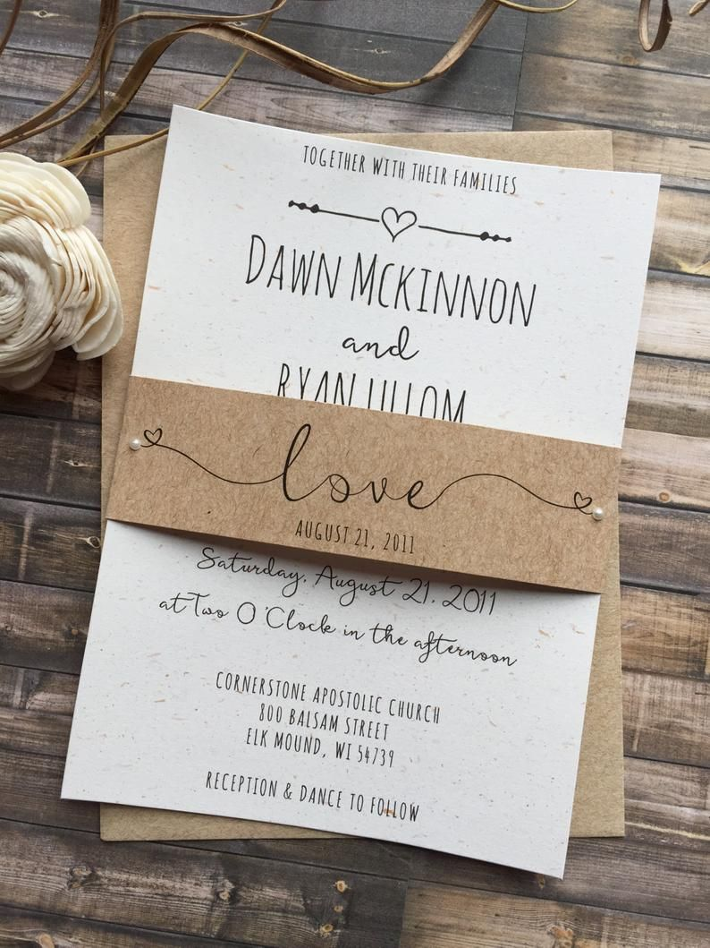 Photo of Rustikale Hochzeitseinladung, skurrile Hochzeitseinladung, Sha …