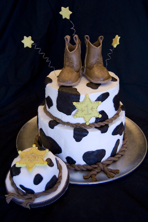Western Baby Shower Cake Ideas This Is For A Firstborn On His