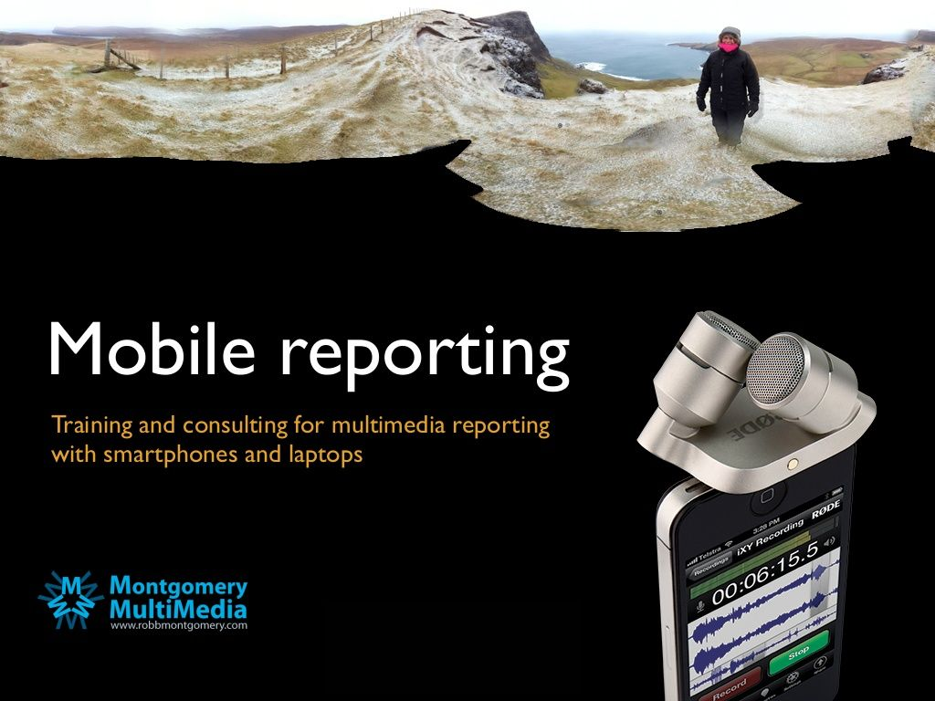 mobile-reporting-brochure by Robb Montgomery via Slideshare