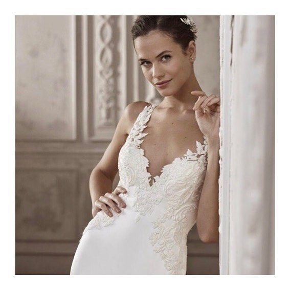 5a10160f356a Stocking both San Patrick and White One Essential... step into a Pronovias  dress that fits your budget.