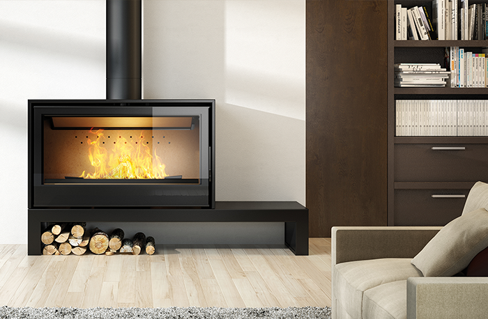 Axis I1000 Freestanding Fireplace Freestanding Fireplace Wood Fireplace Fireplace