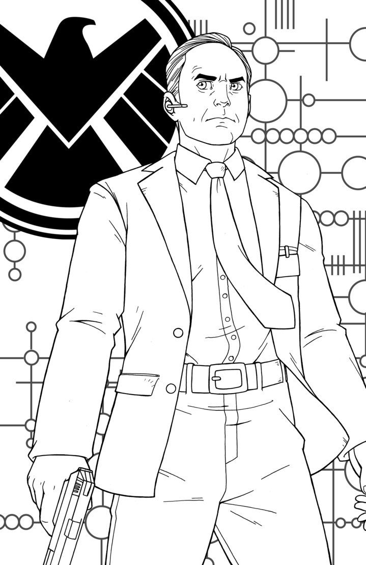 Phil Coulson by JamieFayX | Phil coulson, Captain marvel ...