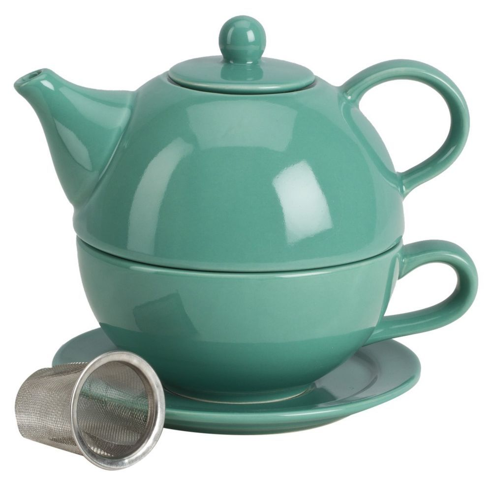 Omniware 1500157 5 Piece Tea For One Teapot Set with An Infuser ...