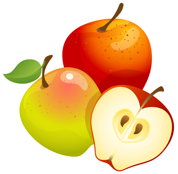 Large Painted Apples Png Clipart Clip Art Apple Vector Graphics Design