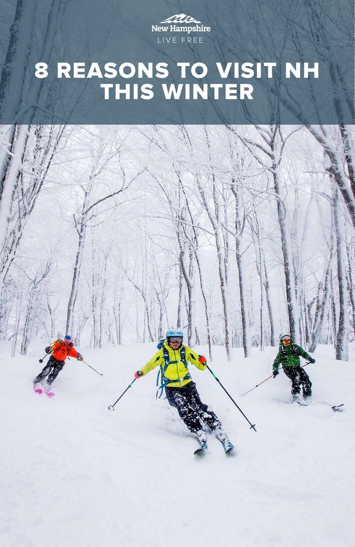 Photo of 8 razones para visitar NH este invierno