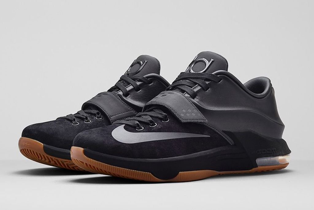 Nike KD VII EXT Suede QS Black/Gum Official Look | Sole Collector