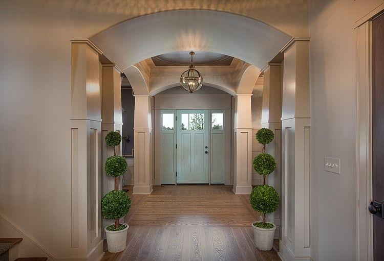 Taupe Ish Walls + Light Mint Door Project Jerome Village Home 1 Original Design  Ideas