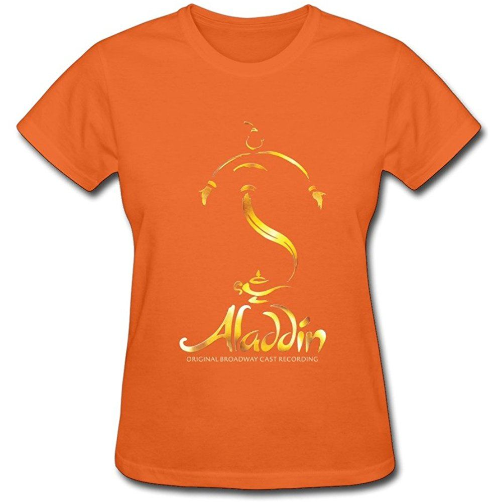 Kaiou Aladdin Theater Broadway Women S Sleeve T Shirt In 2020