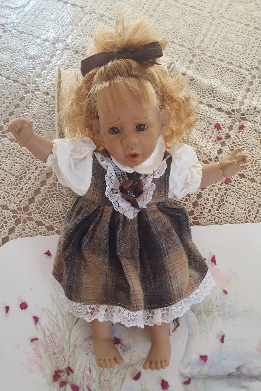 Details about Panre Vintage Spanish Doll 15 Collectable Doll #spanishdolls