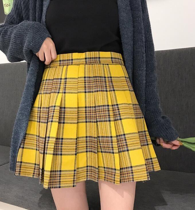 YELLOW PLEATED PLAID SKIRT WOMEN GIRL PLAID Skirt  YELLOW Plaid Skirt School Girl Plaid PLEATED SKIRT PLUS SIZE PLAID SKIRT A-LINE SHORT PLEATED PLAID SKIRT #yellowplaidskirt #yellowpleatedskirt #pleatedplaidskirt #schoolskirt #skirtoutfit #yellowskirtoutfit #schoolskirt #girlplaidskirt #fashionplaidskirt #plussizeplaidskirt #highwaistedplaidskirt #alineplaidskirt #campusskirt #miniskirtoutfit #minipleatedskirt #miniplaidskirt