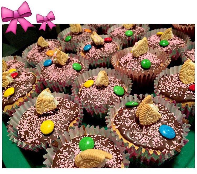#cupcakes para un quince • #rocklets #oreos #chocolate