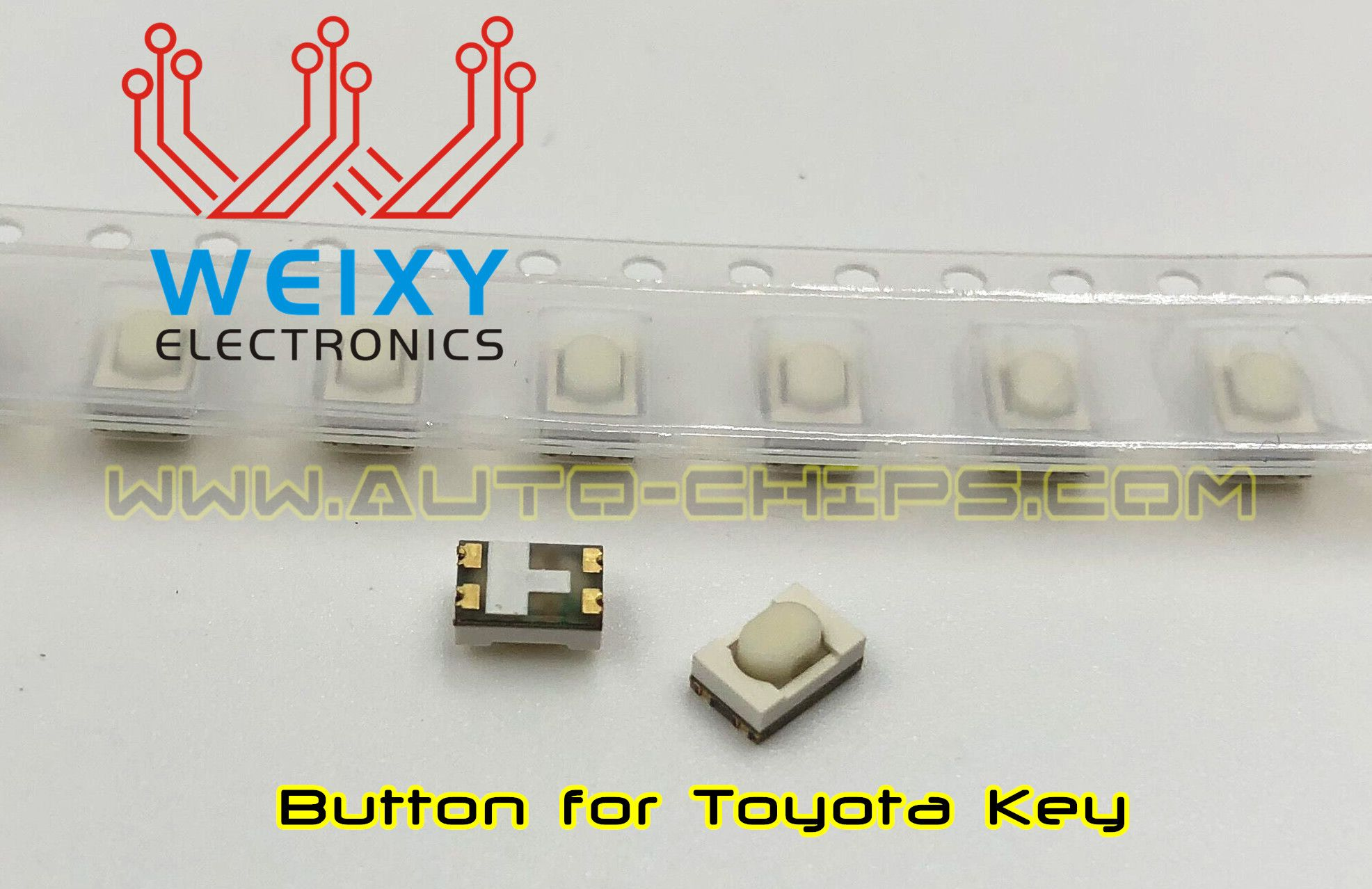 TOYOTA key's button, suitable for all the TOYOTA cars ...