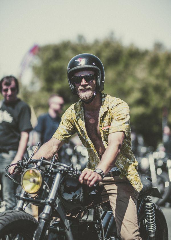 Camiseta Moto Ropa Motorista Hombre Vintage Cafe Racer