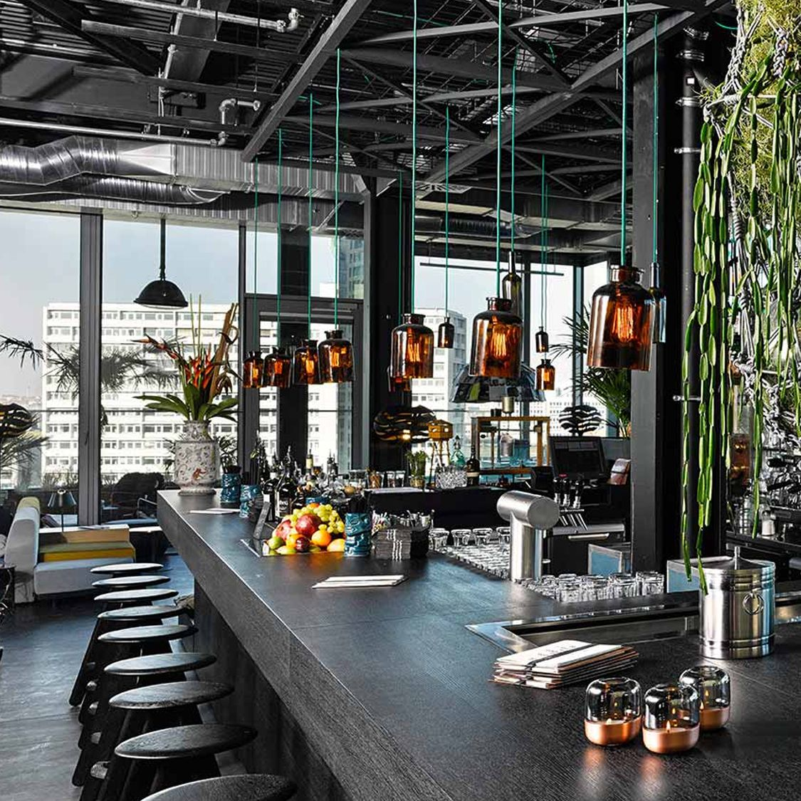 Monkey Bar By 25hours Hotel Bikini Berlin Berlin One Of The Best Hotel Bar In Berlin Learn More At Vossy Com Bar Berlin Grange Restaurant Deco A Table
