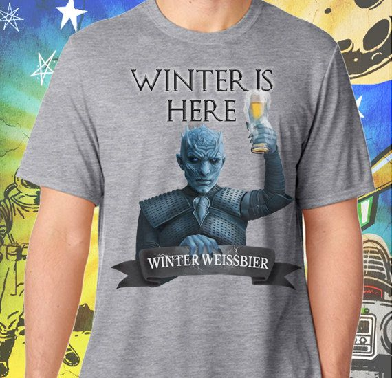Night King Game Of Thrones T Shirt: Game Of Thrones / Winter Is Here / Night's King / Men's