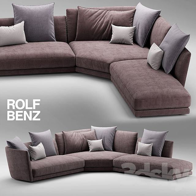Sofa rolf benz tondo 3dsmax chairs pinterest for Rolf benz liege