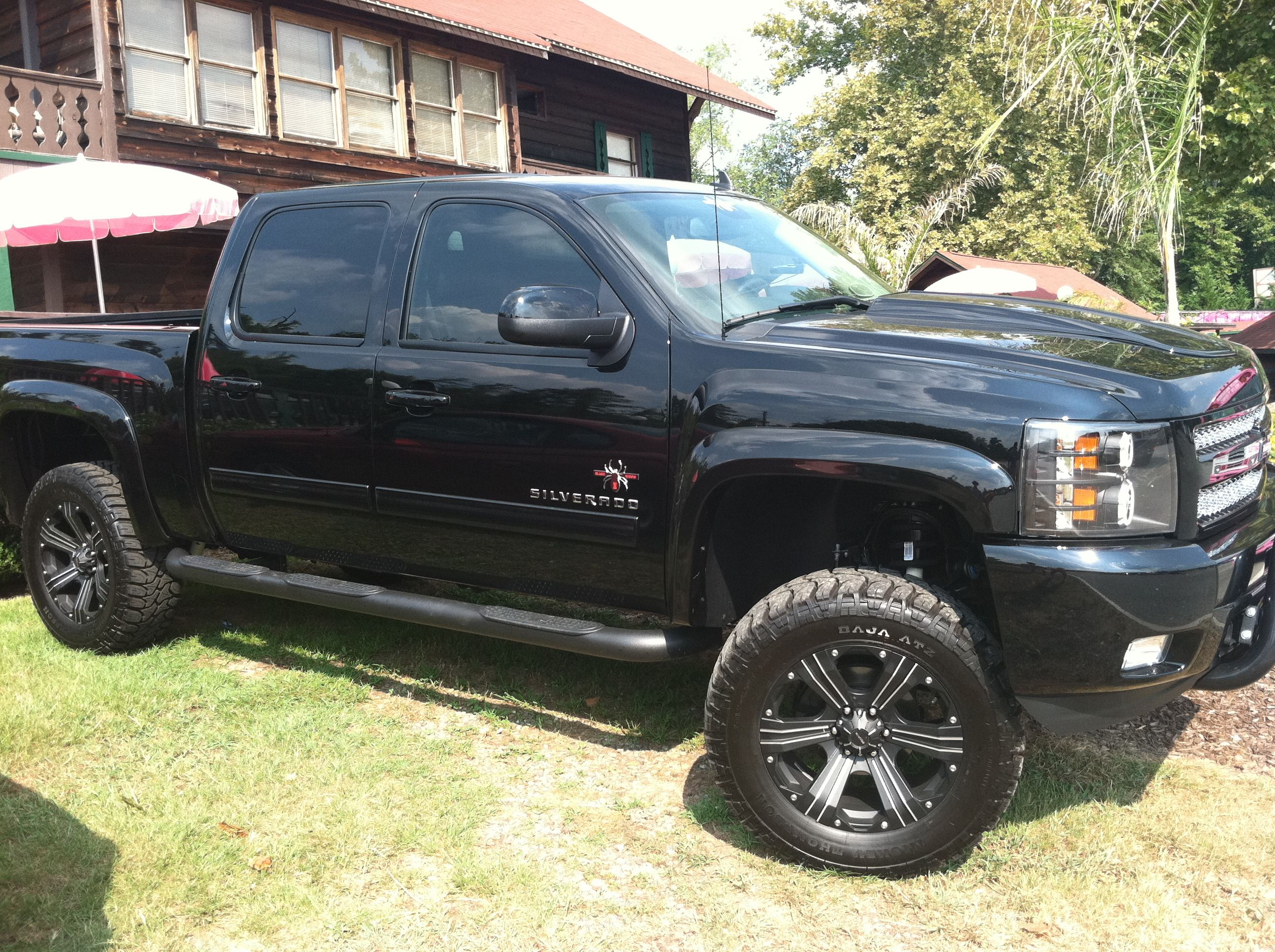 Black widow chevy silverado 1500 ltd