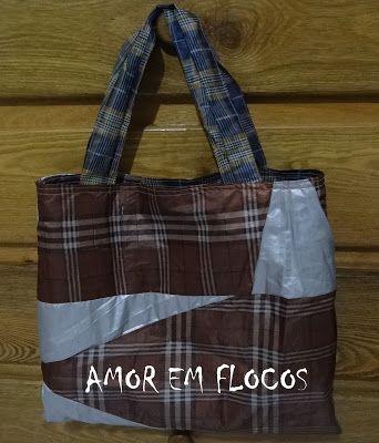 Amor em Flocos: ECO BAG E PUXA SACO RECICLADOS
