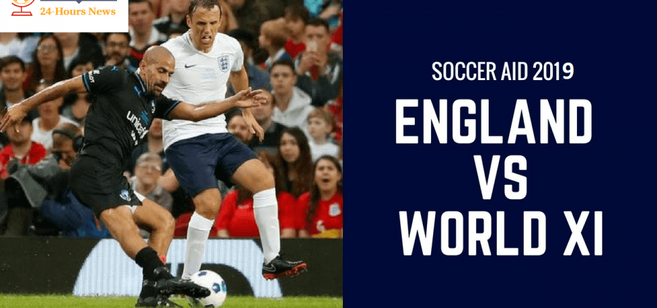 England Xi Vs World Xi Soccer Aid 2019 Live Tv Channel Live Stream Watch Online Game Time Tv Channel Soccer Aid Live Tv
