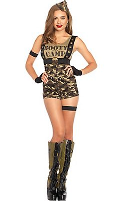 Military Costumes for Women - Army Costumes u0026 Army Girl Costumes - Party City  sc 1 st  Pinterest & Military Costumes for Women - Army Costumes u0026 Army Girl Costumes ...