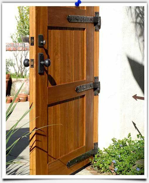 Bronze Hardware On Wood Door Coastal Bronze Fence Gate Design Rustic Doors Wooden Gate Door