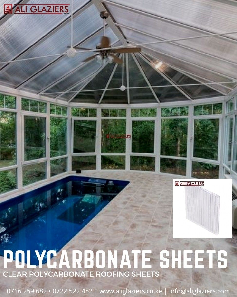 Polycarbonate Roofing Sheets Clear In 2020 Endless Pool Luxury Swimming Pools Pool Houses