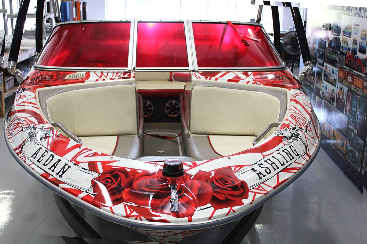 Custom Bay Liner Boat Wraps Bayliner Boats Bass Boat