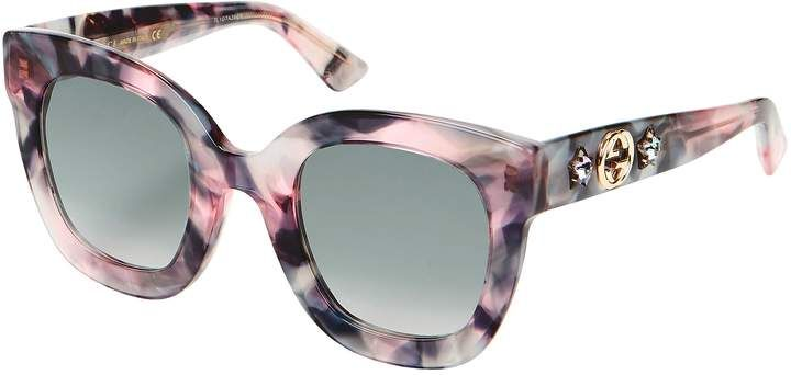 c47abb2ec7b GUCCI SUN Oversized Marble Acetate Sunglasses  style distinctive purple