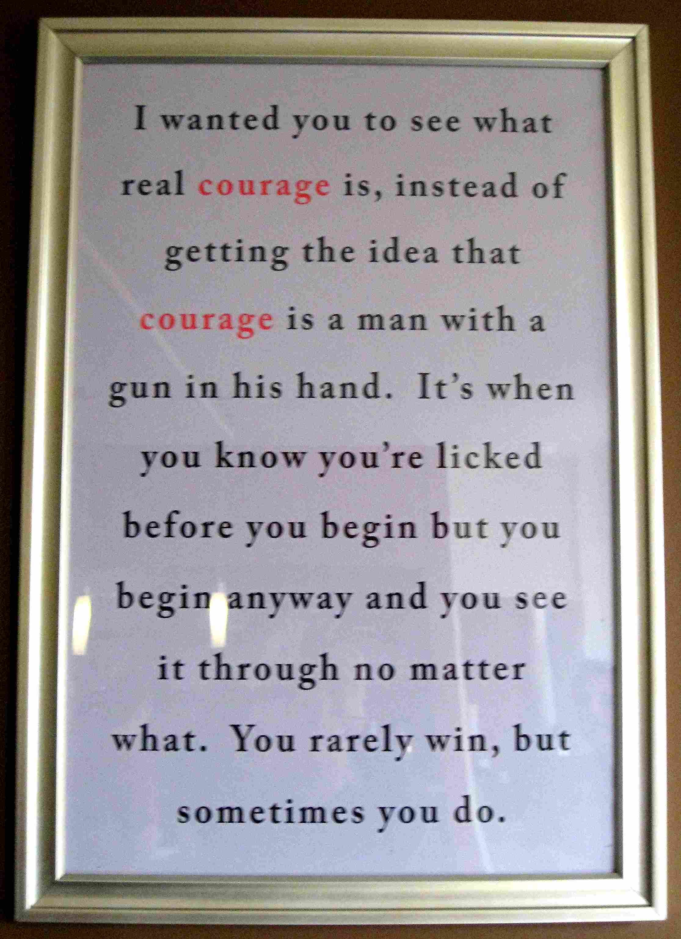 atticus finch quote on courage to kill a mockingbird baby hess atticus finch quote on courage to kill a mockingbird