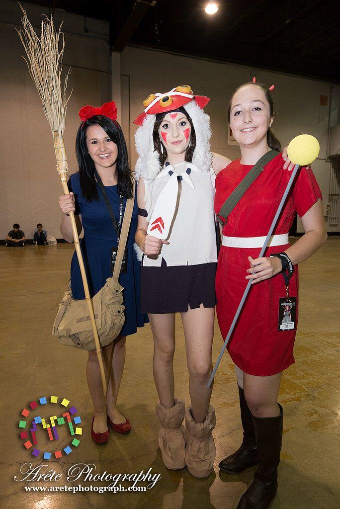 kiki princess mononoke and arrietty halloween costume