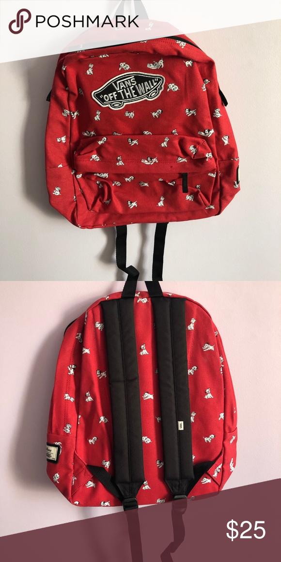 f16edd7731 Vans Dalmatian backpack Red Dalmatian bag