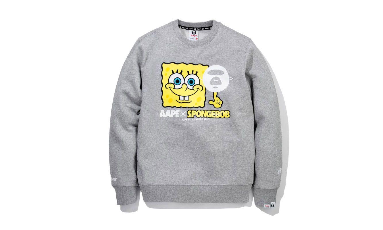 AAPE by A Bathing Ape x SpongeBob Capsule Collection | SpongeBob ...