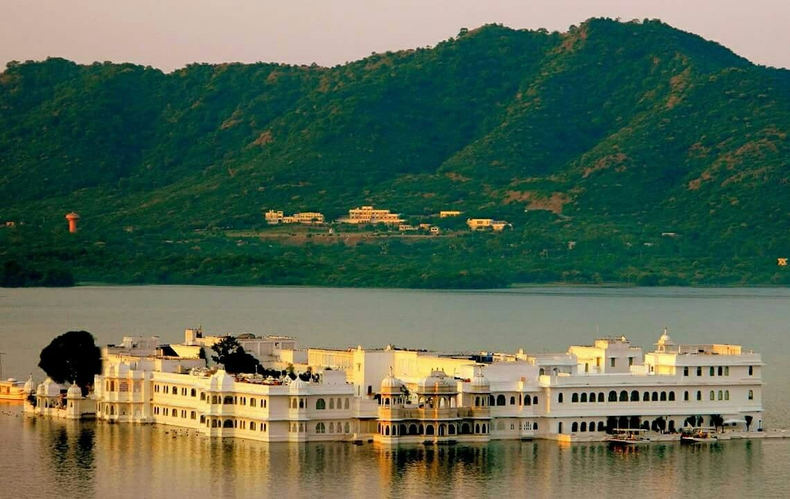 How about staying by the lake at the Lake Palace, Udaipur